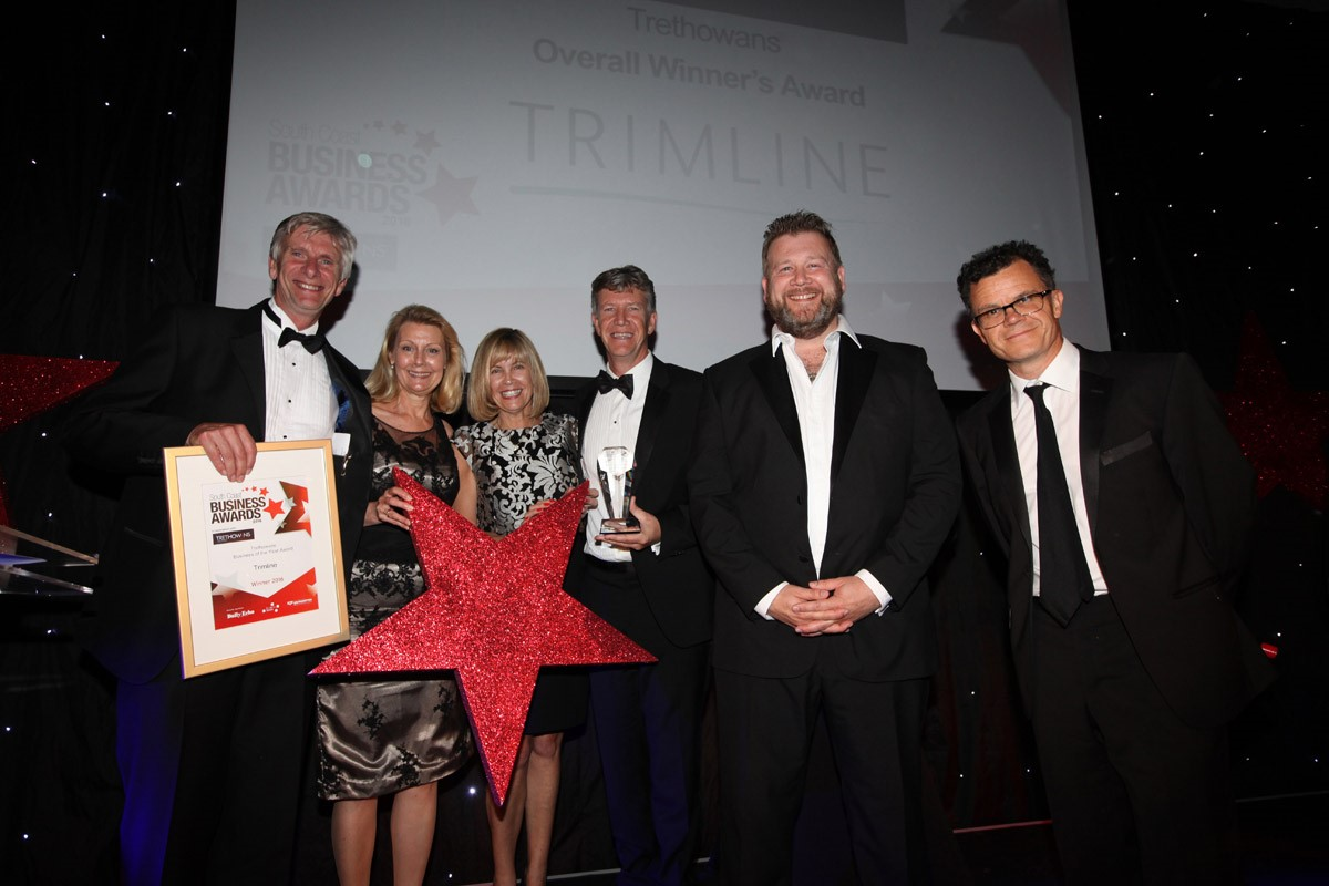 TRIMLINE CROWNED AS SOUTH COAST BUSINESS OF THE YEAR 2016