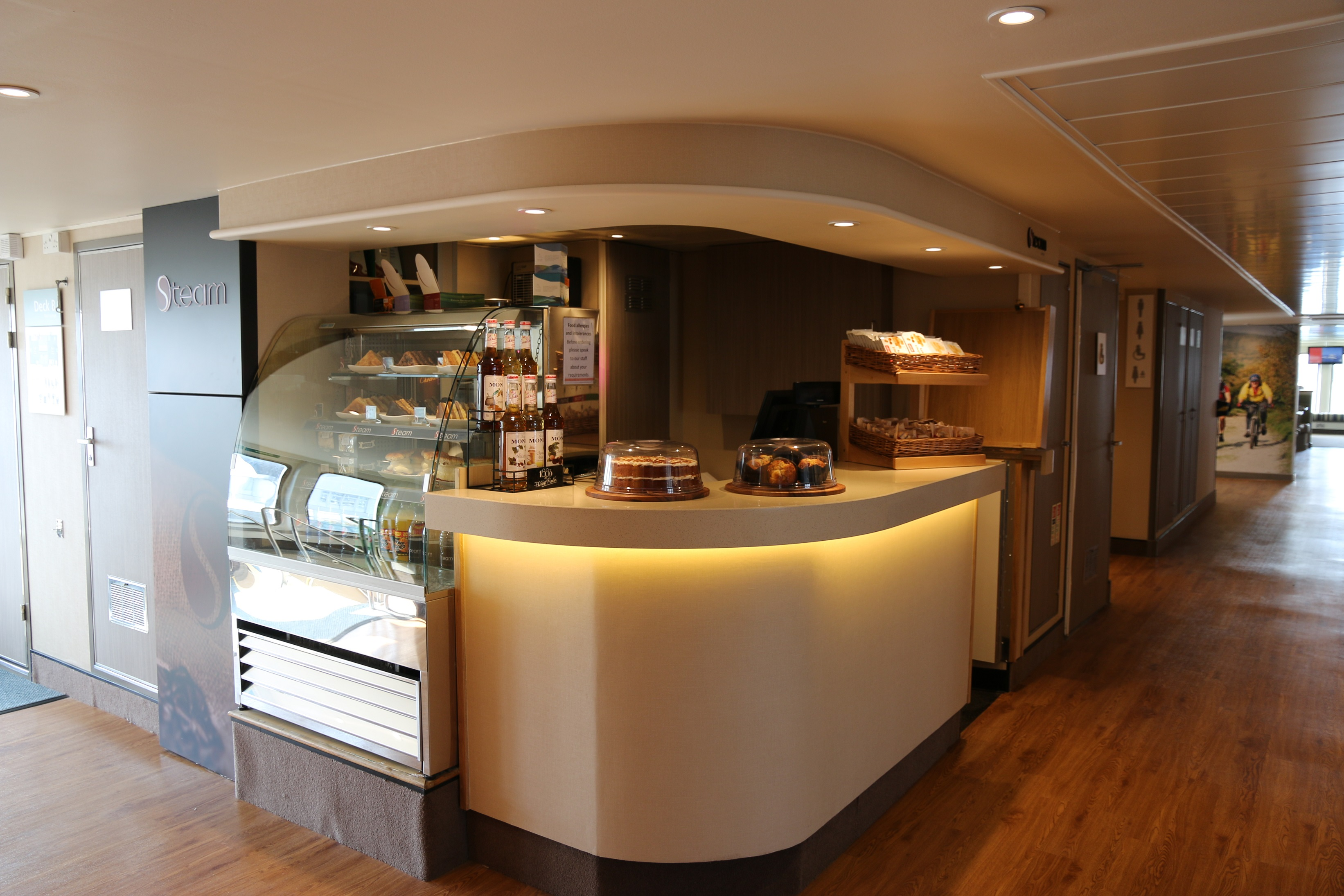 Red funnel red osprey servery small