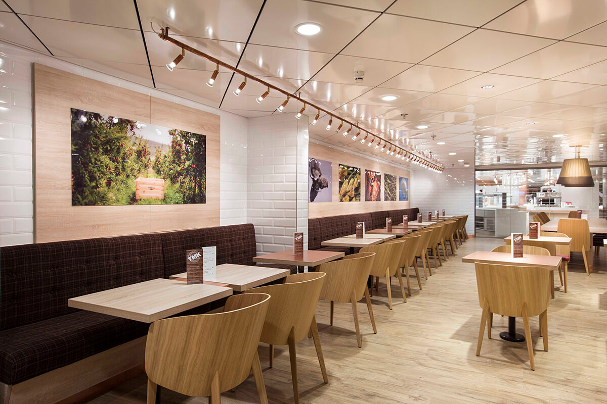 Spirit of Tasmania ferries interior refurbishment by leading outfitter