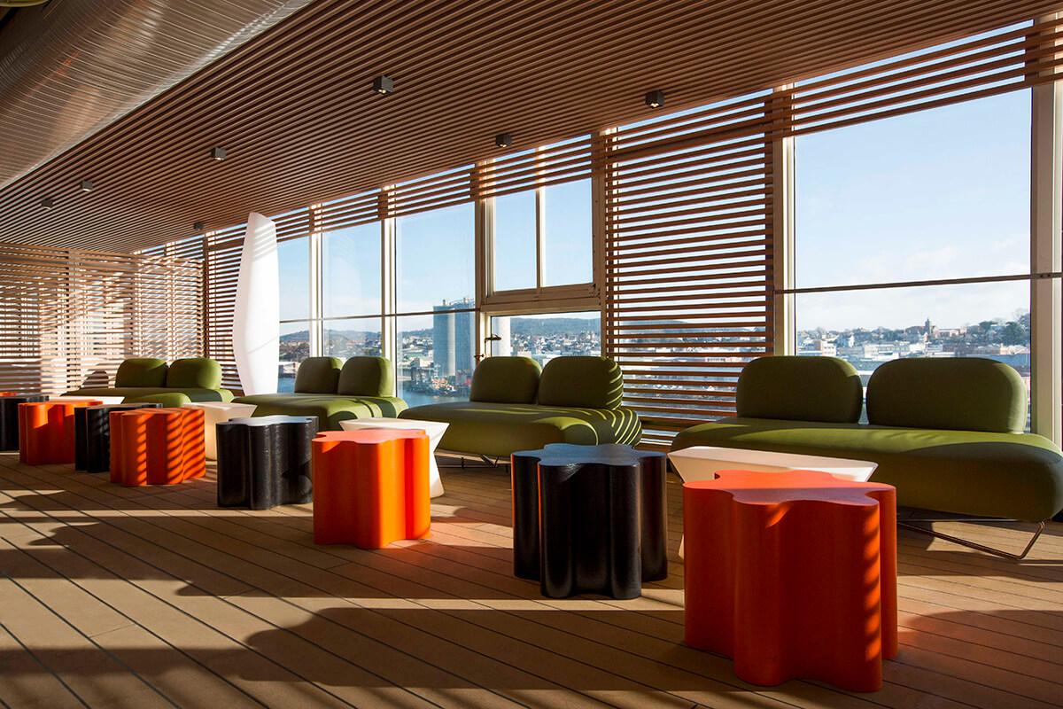 Spirit of Tasmania ferries interior refurbishment by leading outfitter