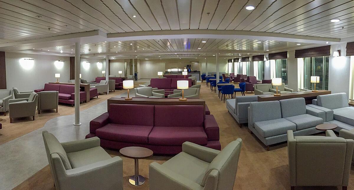 DFDS Cotes Des Flandres & Cote Des Dunes interior refit by trimline