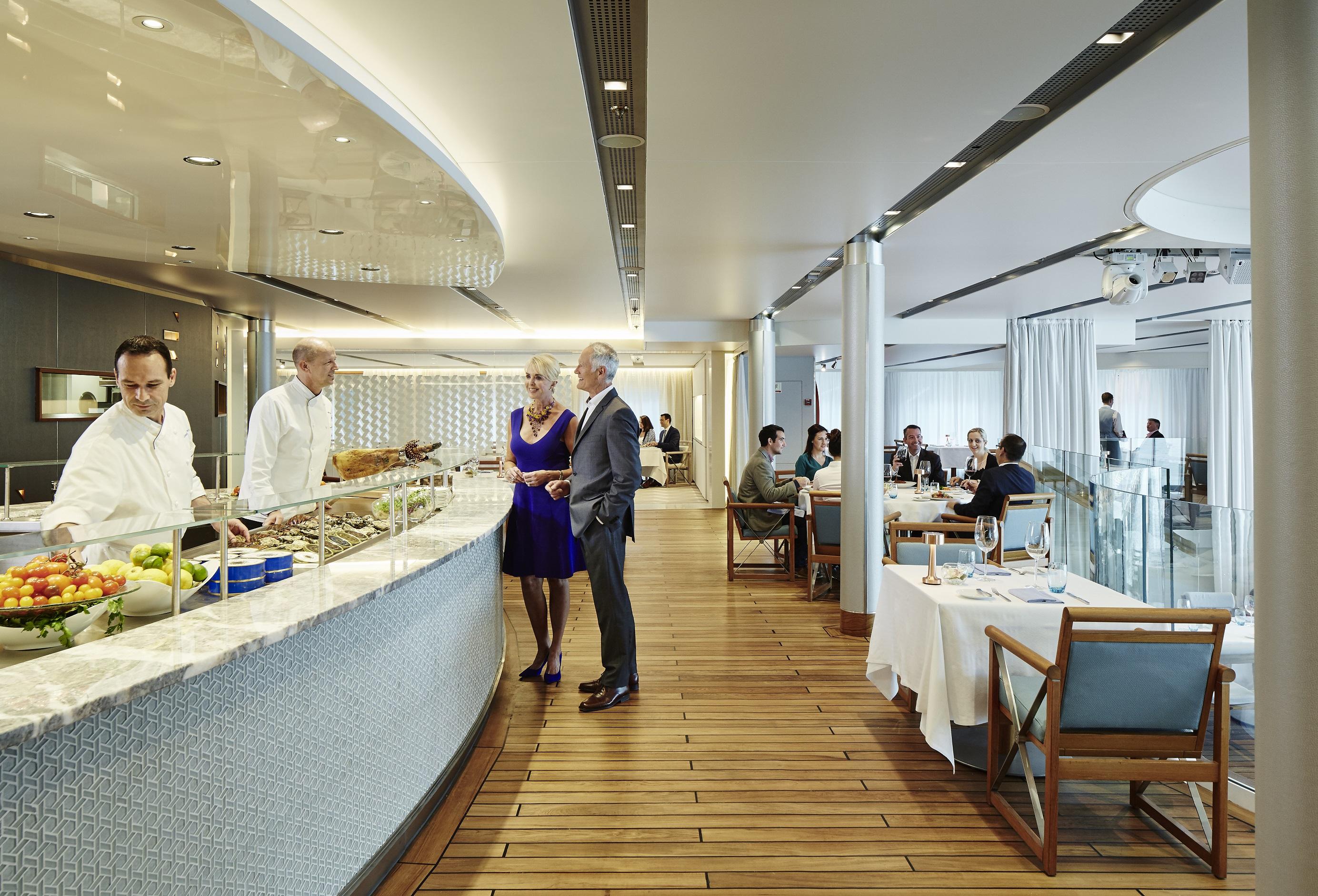 The World restaurant servery small