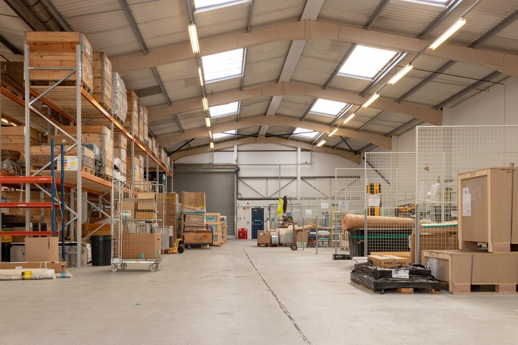 logistics site right small