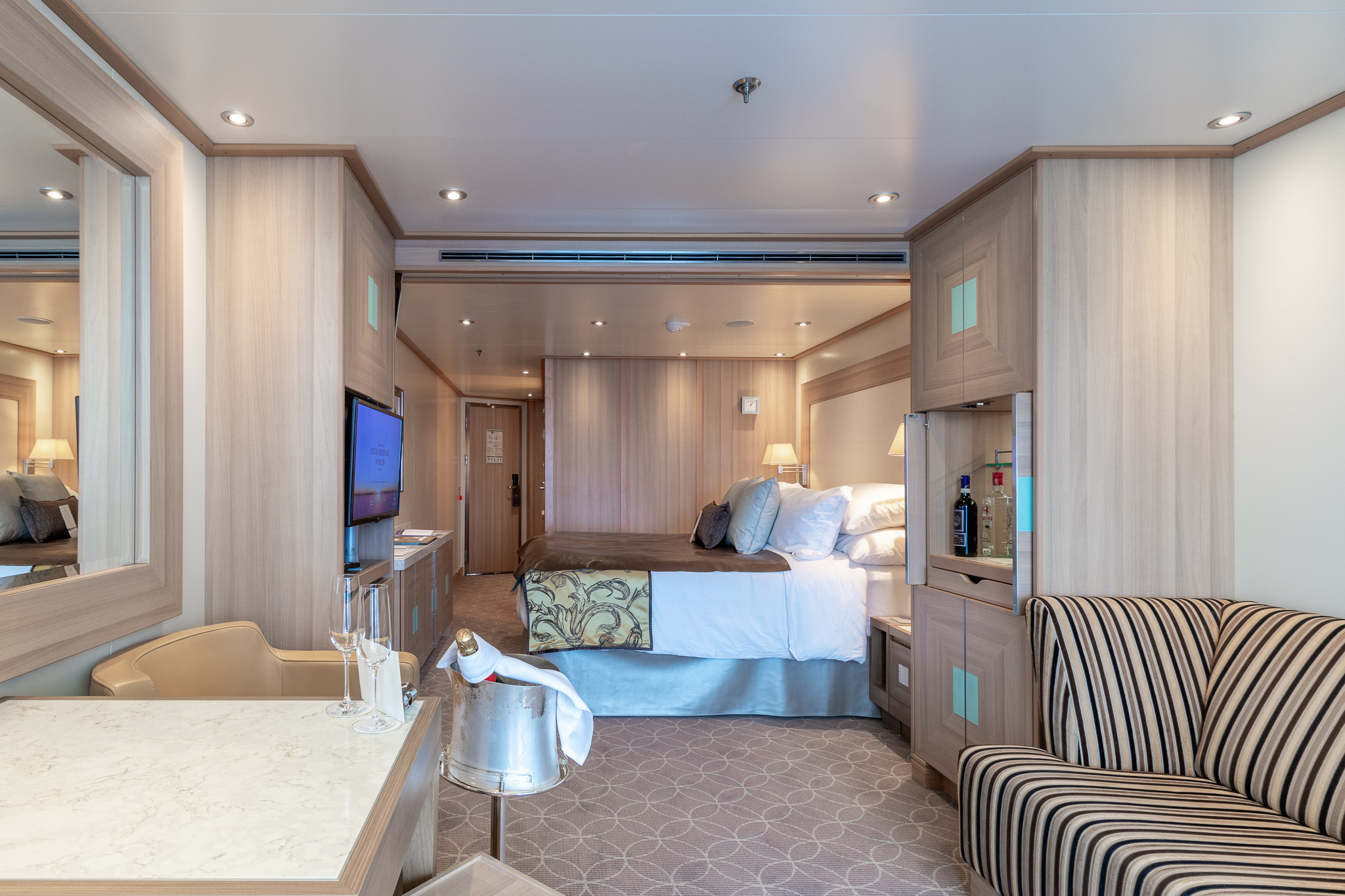 cruise ship interior refurbishment