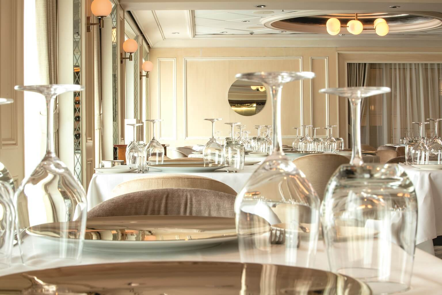Marella explorer 2 interior rebrand by Trimline - Dining Club