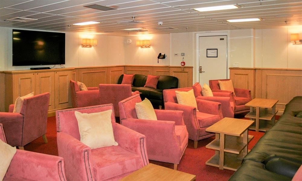 Interior of HMS Queen Elizabeth ship