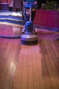 Trimline repair ship dance floor